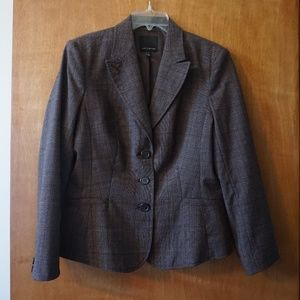 The Limited Women's Brown Blazer (Size: 12)